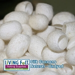 Silk Cocoons - Undyed