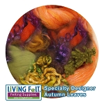 Nuno Felt Scarf Kit - Deluxe Autumn Leaves