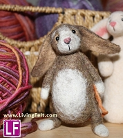 Needle Felting Kit: Story Book Bunny