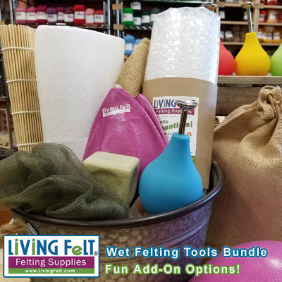 Wet Felting Tools