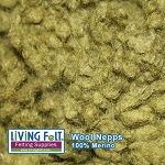 Wool Nepps - Olive