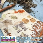 Eco Printing Workshop - Eco Print on Wool Felt and Silk
