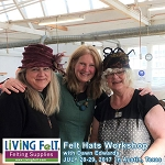 Wet & Nuno Felt Workshop - Felted Hats