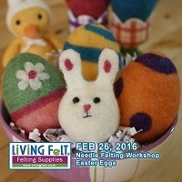 Needle Felting Make N Take: Easter Eggs & Springy Things