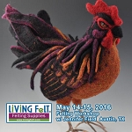 Needle Felting Workshop - Artful Roosters & Chickens