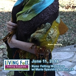 Nuno Felting Workshop: Multi-Dimensional Nuno Felt Wrap, Scarf or Shawl