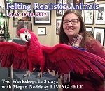 Needle Felting Workshop - Realistic Animals