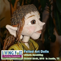 Needle Felting Workshop -- Dolls