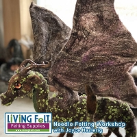 Needle Felting Workshop - Dragons