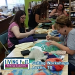 FELTING & FIBER ART WORKSHOPS