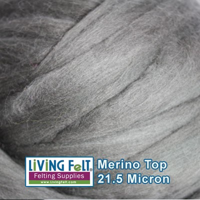 Merino Top – 21.5 Micron - Carbon