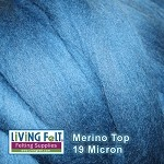 Super Fine Merino Top – Mallard