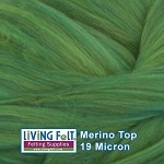 Super Fine Merino Top – Leaf