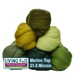 LIVING GREEN - Merino Top Studio Pack