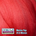 Merino Top – Red
