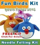 Needle Felting Kit: Needle Felting A Fun Bird FREE