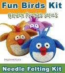 DOWNLOAD ONLY Needle Felting Kit: Needle Felting A Fun Bird