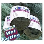 "Wet Felting Supplies Mesh Fabric 30"" x 60"