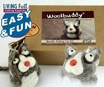 Needle Felting Woolbuddy Cat Kit