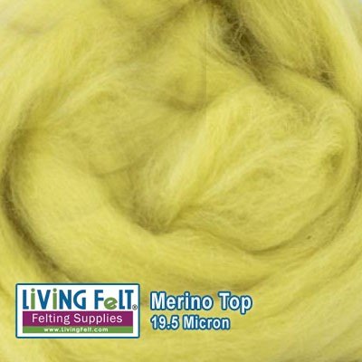 Merino Top –  19.5 Micron - Citron