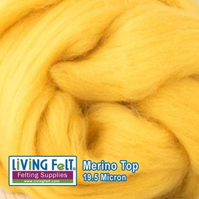 Merino Top – 19.5 Micron - Sunshine