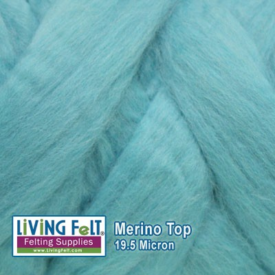 Merino Top – 19.5 Micron - Tide Pool