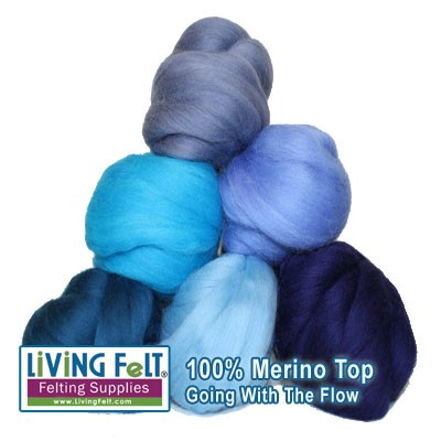 GOING WITH THE FLOW - Merino Top Studio Pack
