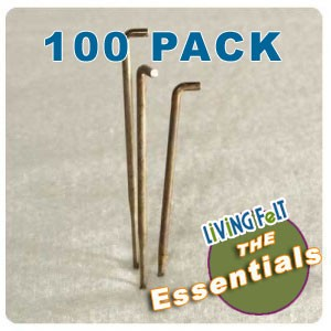 Felting Needles 42 Triangle 100 Pack