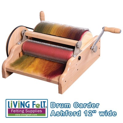 Drum Carder - Extra Wide Carder by Ashford