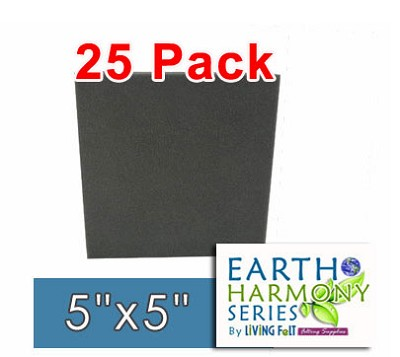 "25 Pack Needle Felting Foam 5"" x 5"" Earth Harmony Series"
