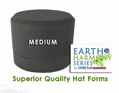 Needle Felting Hat Forms Earth Harmony Series MEDIUM