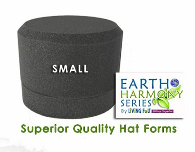 Needle Felting Hat Forms Earth Harmony Series SMALL