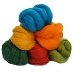 Felting & Needle Felting Wool: New Zealand Corriedale Wool  – Amazon Rainforest