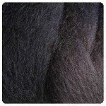 Felting & Needle Felting Wool: New Zealand Corriedale Wool  – Black