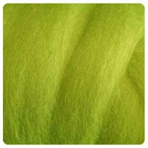 NZ Corriedale Wool  – Lime