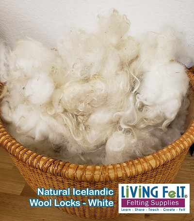 Natural Icelandic Locks - Natural White