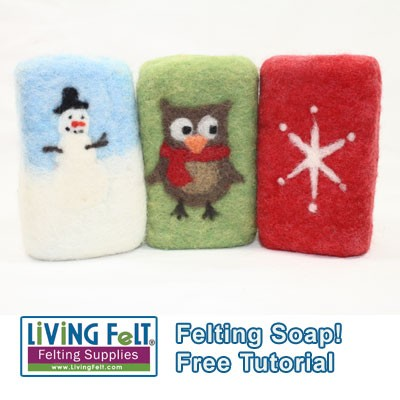 FREE Felting Over a Bar of Soap  Tutorial  PDF