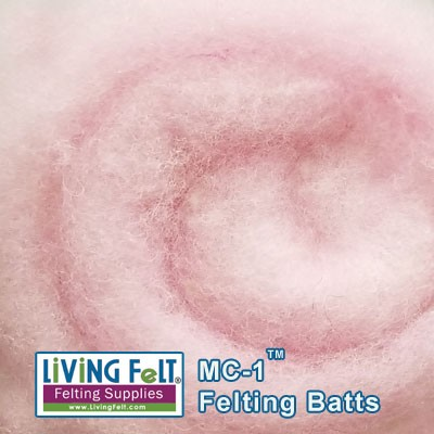 MC-1™ Merino Cross Batt – Powder Pink
