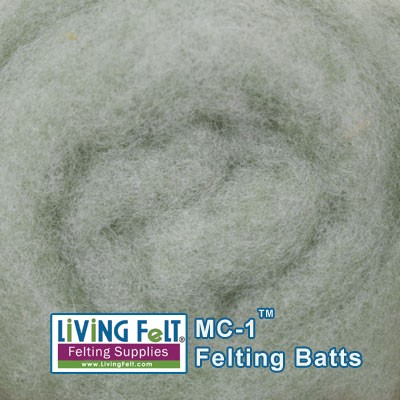 MC-1™    Merino Cross Batt – Butter Mint