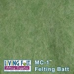 MC-1™    Merino Cross Batt – Meadow Green