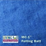 MC-1™    Merino Cross Batt – Majestic Blue