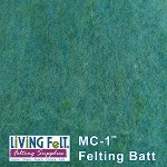 MC-1™    Merino Cross Batt – Ocean Green