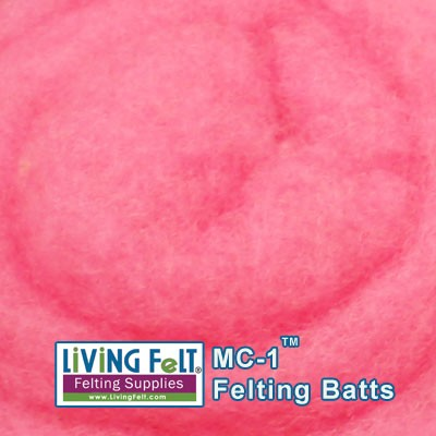 MC-1™    Merino Cross Batt – Orchid Pink
