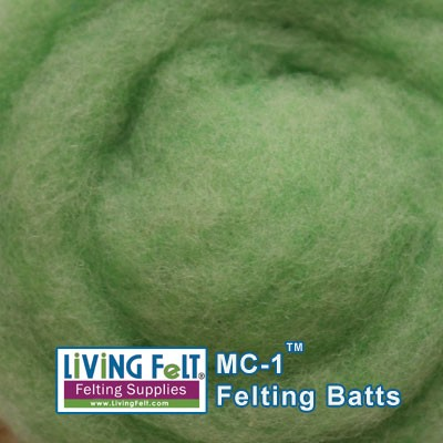 MC-1™    Merino Cross Batt – Parakeet
