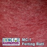 MC-1™    Merino Cross Batt – Rhubarb