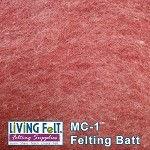 MC-1™    Merino Cross Batt – Berries-N-Cream