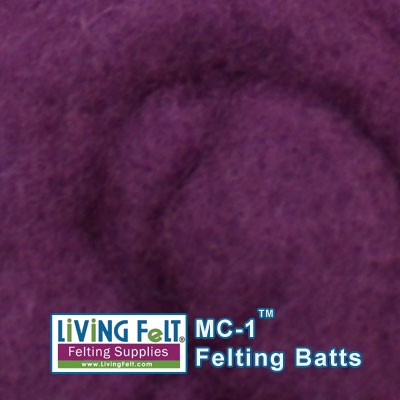MC-1™    Merino Cross Batt – True Violet