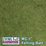 MC-1™    Merino Cross Batt – True Olive