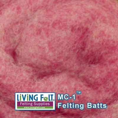 MC-1™    Merino Cross Batt – Tulip