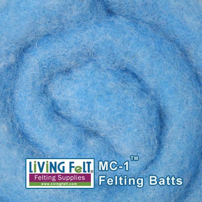MC-1™    Merino Cross Batt – Winter Blue